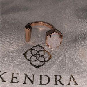 Kendra Scott Theodore Ring -Rose Gold